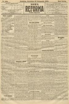 Nowa Reforma (numer poranny). 1908, nr528