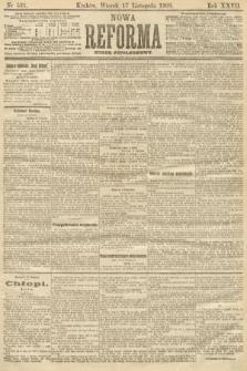 Nowa Reforma (numer popołudniowy). 1908, nr531