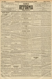 Nowa Reforma (numer poranny). 1908, nr534