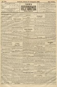 Nowa Reforma (numer poranny). 1908, nr538