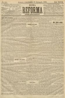 Nowa Reforma (numer popołudniowy). 1908, nr541