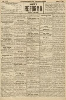 Nowa Reforma (numer poranny). 1908, nr544