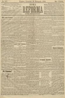 Nowa Reforma (numer popołudniowy). 1908, nr547