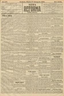 Nowa Reforma (numer poranny). 1908, nr548