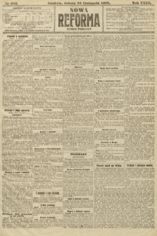 Nowa Reforma (numer poranny). 1908, nr550