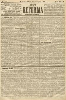 Nowa Reforma (numer popołudniowy). 1908, nr551