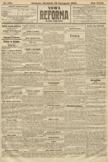 Nowa Reforma (numer poranny). 1908, nr552