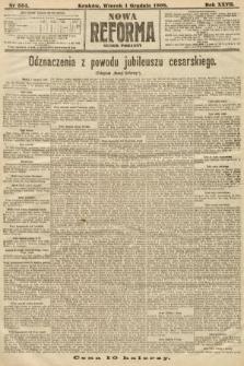 Nowa Reforma (numer poranny). 1908, nr554
