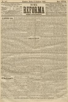 Nowa Reforma (numer popołudniowy). 1908, nr557