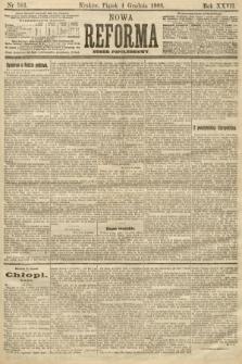 Nowa Reforma (numer popołudniowy). 1908, nr561