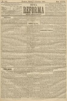 Nowa Reforma (numer popołudniowy). 1908, nr563