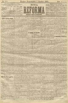 Nowa Reforma (numer popołudniowy). 1908, nr565