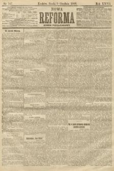 Nowa Reforma (numer popołudniowy). 1908, nr567