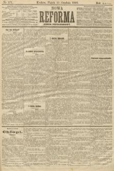 Nowa Reforma (numer popołudniowy). 1908, nr571