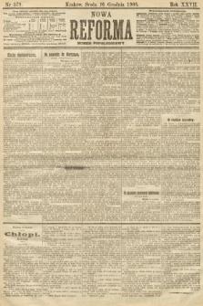 Nowa Reforma (numer popołudniowy). 1908, nr579