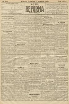 Nowa Reforma (numer poranny). 1908, nr580