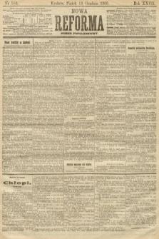 Nowa Reforma (numer popołudniowy). 1908, nr583