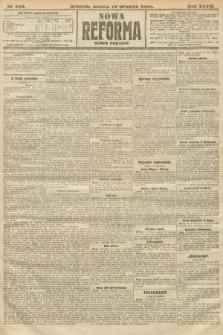 Nowa Reforma (numer poranny). 1908, nr584