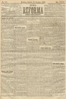 Nowa Reforma (numer popołudniowy). 1908, nr585