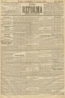 Nowa Reforma (numer popołudniowy). 1908, nr587