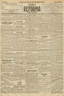 Nowa Reforma (numer poranny). 1908, nr588