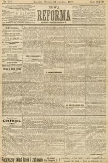 Nowa Reforma (numer popołudniowy). 1908, nr589