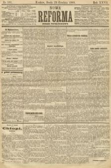 Nowa Reforma (numer popołudniowy). 1908, nr591