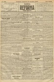Nowa Reforma (numer poranny). 1908, nr592