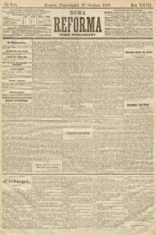 Nowa Reforma (numer popołudniowy). 1908, nr595