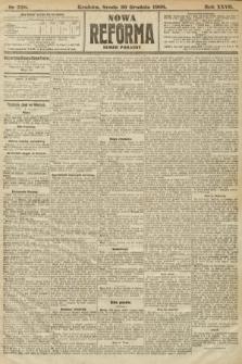 Nowa Reforma (numer poranny). 1908, nr598