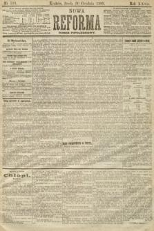 Nowa Reforma (numer popołudniowy). 1908, nr599