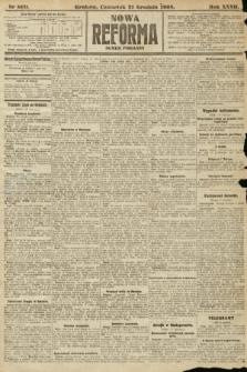 Nowa Reforma (numer poranny). 1908, nr600