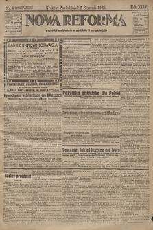 Nowa Reforma. 1925, nr4