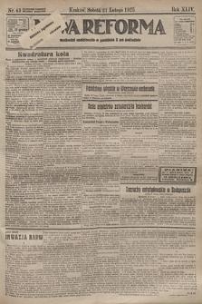 Nowa Reforma. 1925, nr43