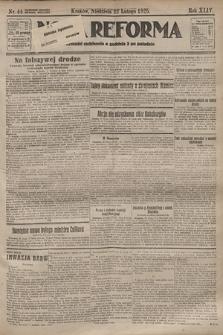 Nowa Reforma. 1925, nr44