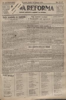 Nowa Reforma. 1925, nr46