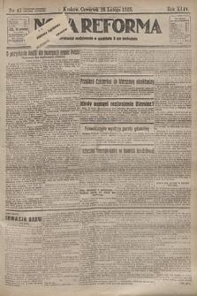 Nowa Reforma. 1925, nr47