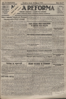 Nowa Reforma. 1925, nr70