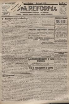 Nowa Reforma. 1925, nr85