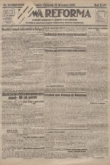 Nowa Reforma. 1925, nr93