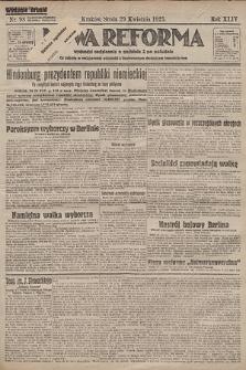 Nowa Reforma. 1925, nr98