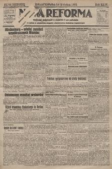 Nowa Reforma. 1925, nr99