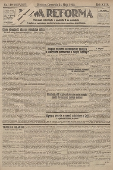 Nowa Reforma. 1925, nr110