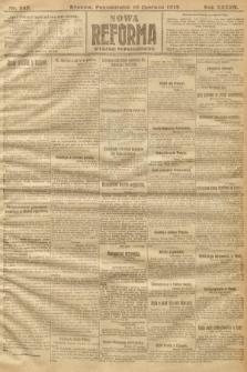 Nowa Reforma (wydanie popołudniowe). 1918, nr243