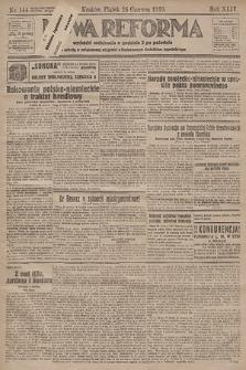 Nowa Reforma. 1925, nr144