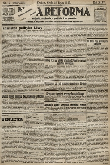 Nowa Reforma. 1925, nr171