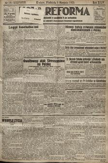 Nowa Reforma. 1925, nr181