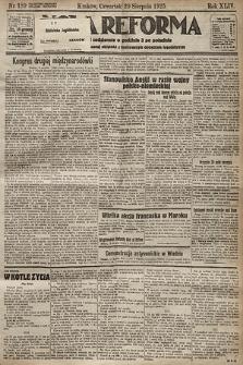 Nowa Reforma. 1925, nr189