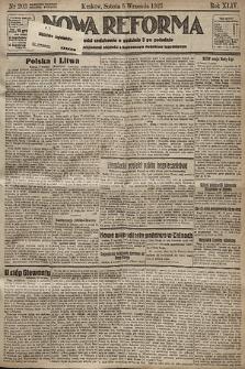 Nowa Reforma. 1925, nr203