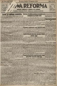 Nowa Reforma. 1925, nr206